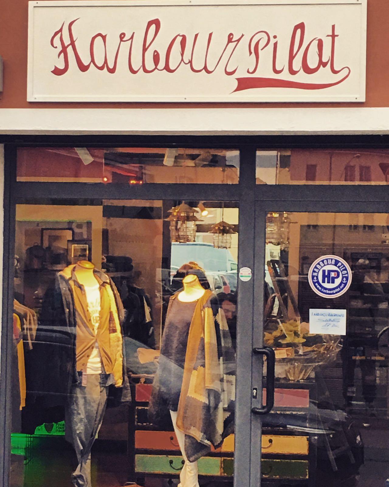 Il negozio a Borgo San Rocco di Harbour Pilot